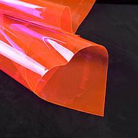Силикон (0,3мм) розовый неон прозрачный ш.122 (22018.017)