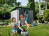 Садовый домик сарай Keter Artisan 7x7 Shed, фото 3