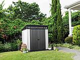 Садовий будиночок сарай Keter Artisan 7x7 Shed, фото 4