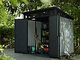 Садовий будиночок сарай Keter Artisan 7x7 Shed, фото 6