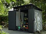 Садовый домик сарай Keter Artisan 7x7 Shed, фото 6