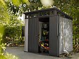 Садовый домик сарай Keter Artisan 7x7 Shed, фото 10
