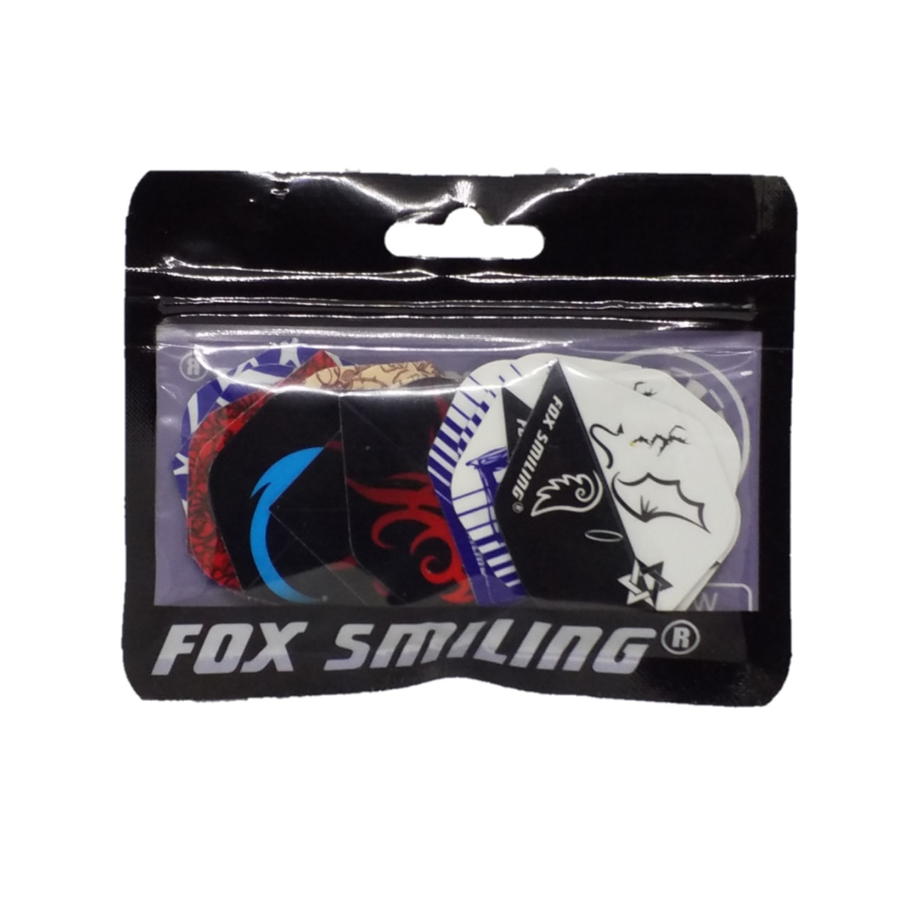 Оперение для дротиков дартс Fox Smiling 6 штук