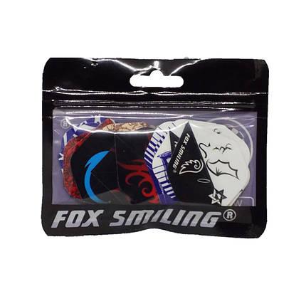 Оперение для дротиков дартс Fox Smiling 6 штук, фото 2
