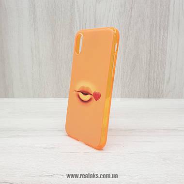 Чехол FUNY FACE силиконовый для Apple iPhone X / Xs, фото 2