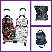 """Валізу з сумочкою на колесах 2в1 (6кол) р-ри 56*33,5*21 см """"VALET""""купити недорого від прямого постачальника"""