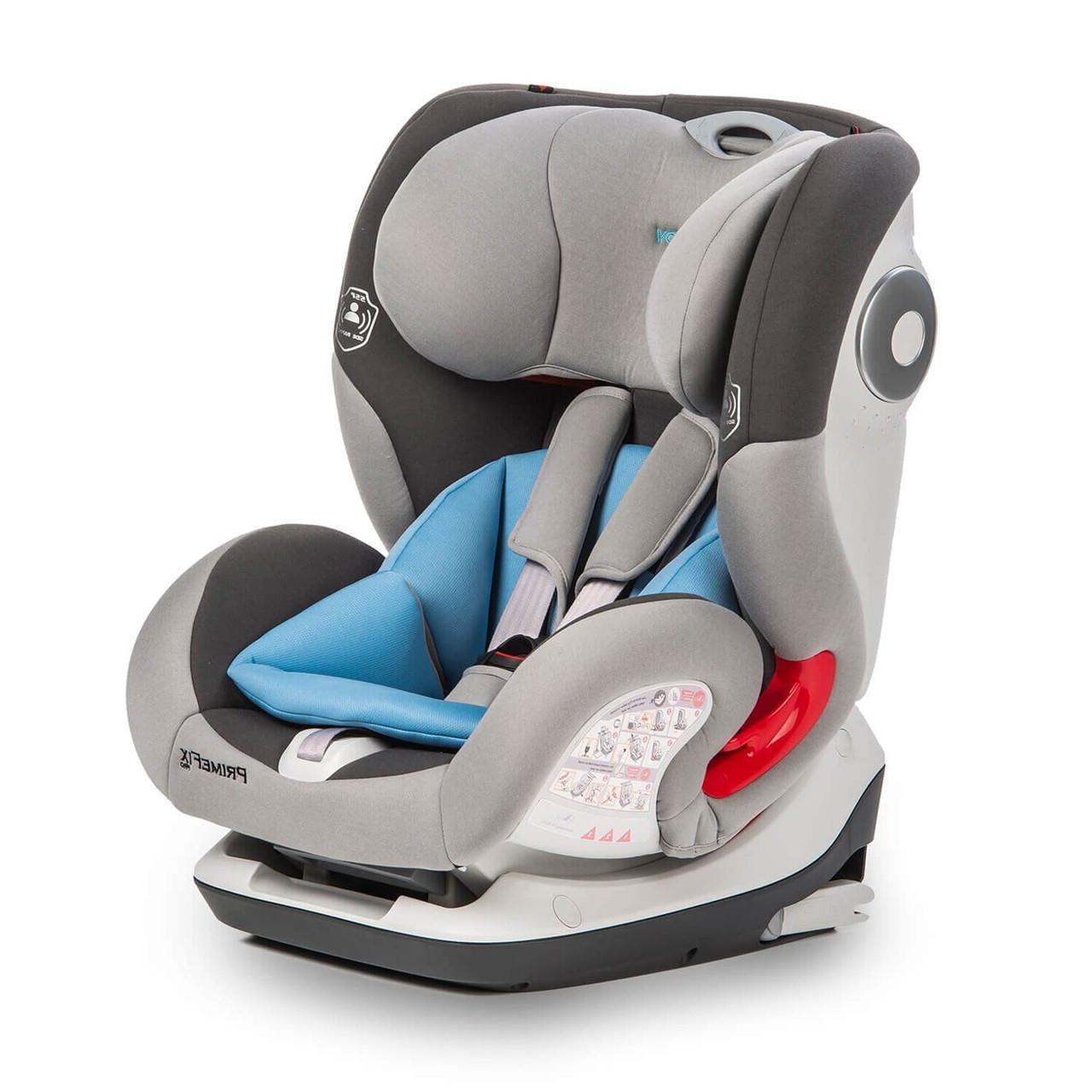 Детское автокресло Mioobaby Prime Fix Grey