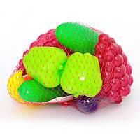 """Набор игрушечных продуктов """"Овощи-фрукты"""" 379 """"Орион"""" 16 предметов"""