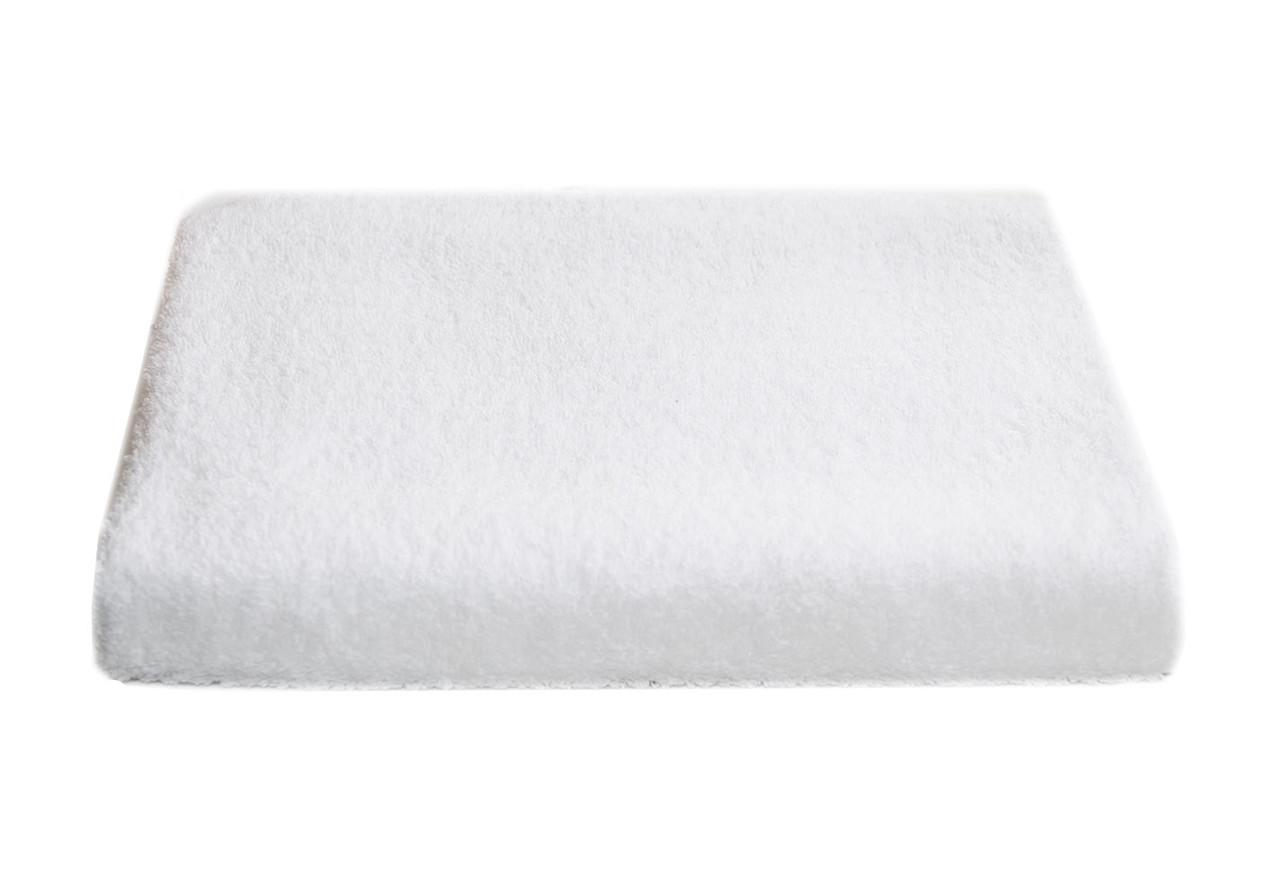 Полотенце белое махра 70*140