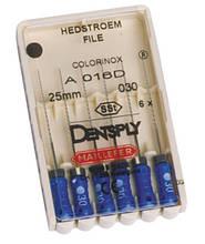 Hedstroem File, Dentsply Maillefer (Н-файлы), 6 шт/упаковка.