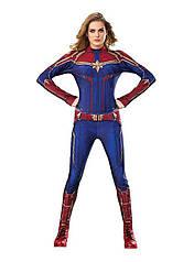 Женский карнавальный костюм капитан Марвел