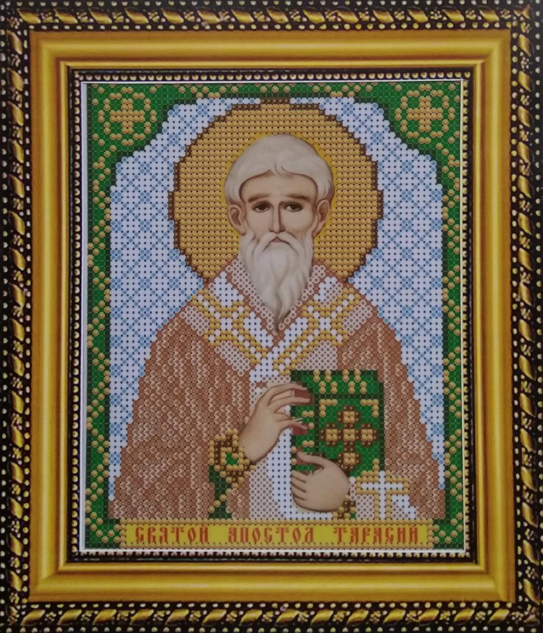 Набор для вышивки бисером ArtWork икона Святой Апостол Тарасий VIA 5107
