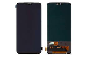 Дисплей для OnePlus 6 | A6003 (1+6) с сенсорным стеклом (Черный) Оригинал