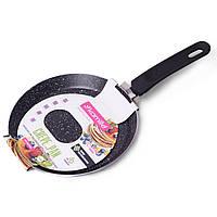 Сковорода блинная Kamille 22см с мраморным покрытием KM-0619MR