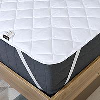 Наматрасник 80х190 стеганный микрофибра, Comfort на резинках, фото 1