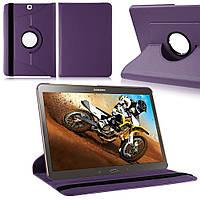 Кожаный чехол-книжка TTX (360 градусов) для Samsung Galaxy Tab S2 9.7 SM-T810/T815 Сиреневый, фото 1