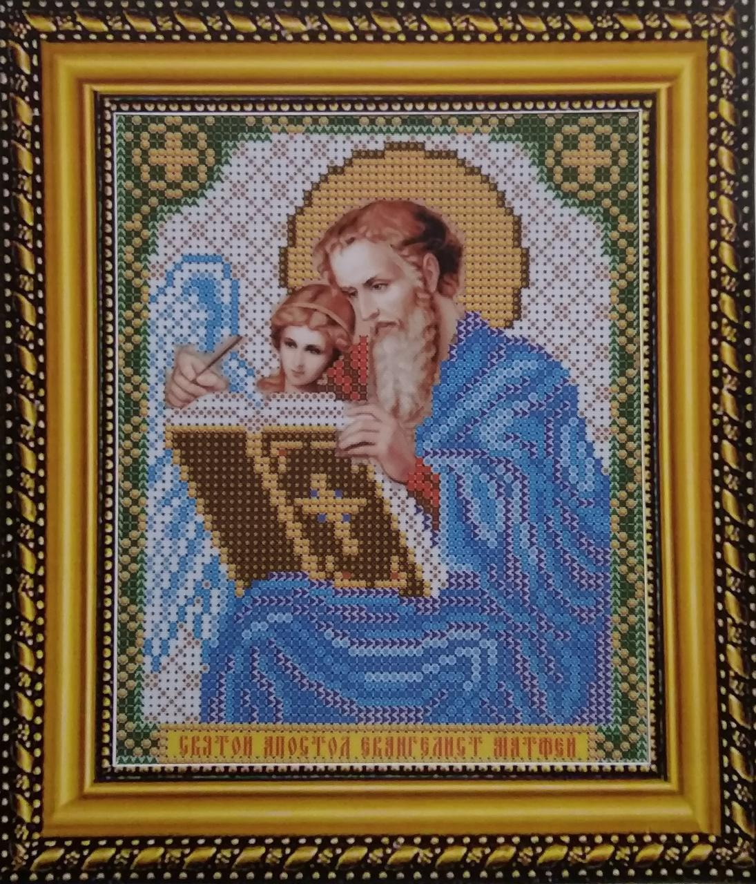 Набор для вышивки бисером ArtWork икона Святой Апостол Матфей VIA 5128