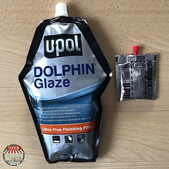Шпатлевка доводочная самовыравнивающаяся U-POL Doplhin Glaze, 440 мл