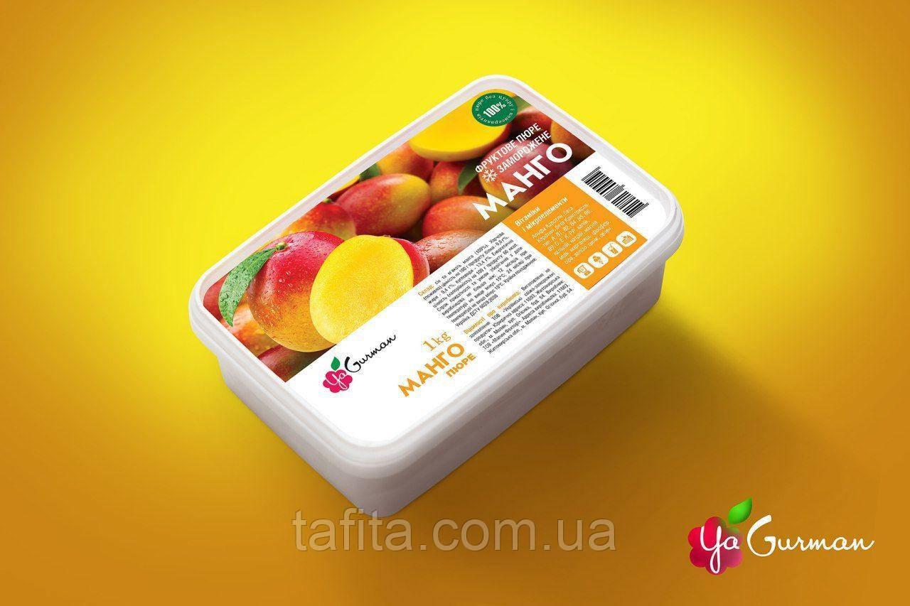 Пюре Манго (без сахара) 1 кг