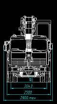 Автокран КЛИНЦЫ КС-65719-1К-1 на шасси КАМАЗ-6540, фото 3