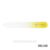 Стеклянная двухсторонняя пилки для натуральных ногтей. EBG-02B