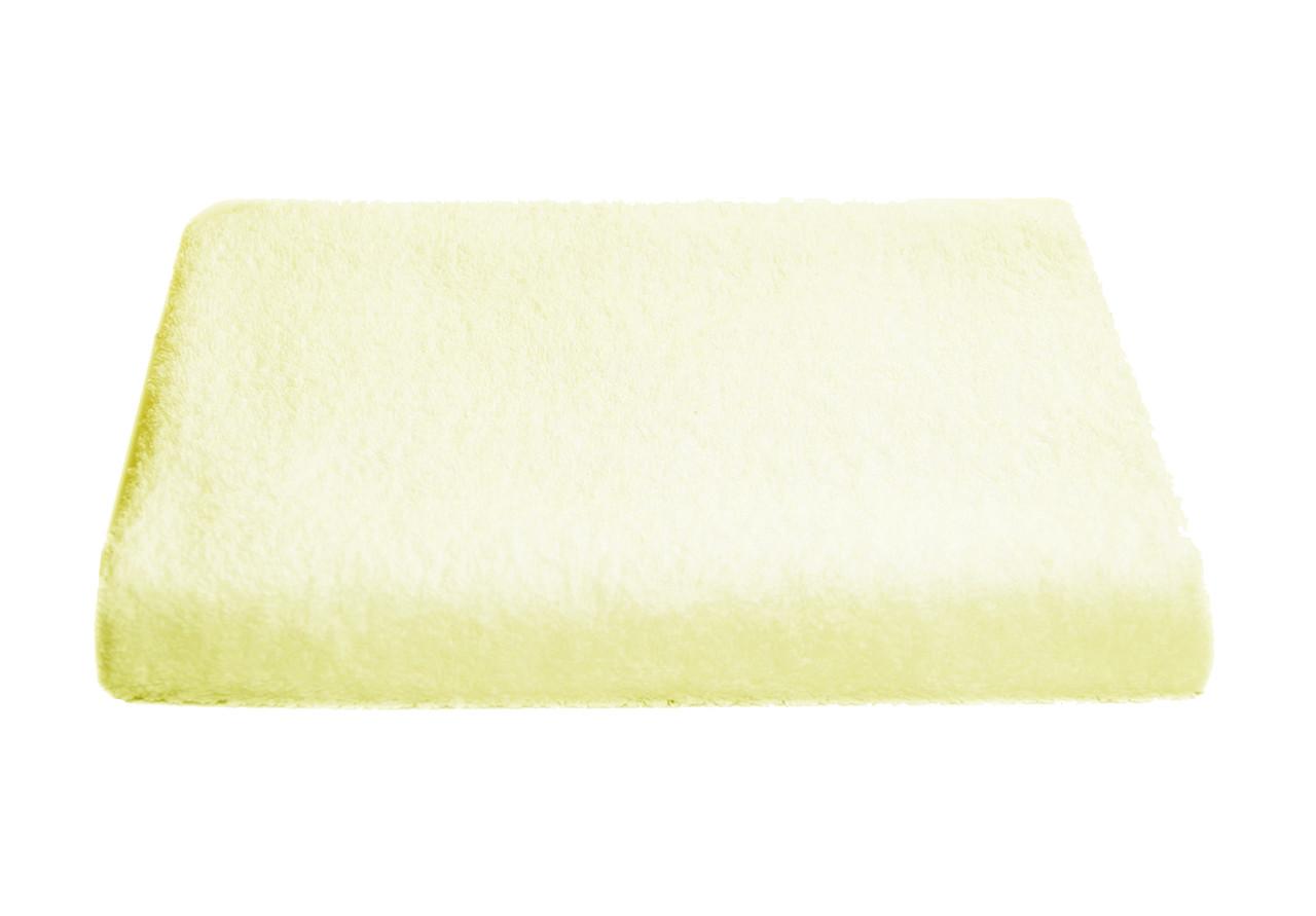 Полотенце лицевое махра 50*90 молочное