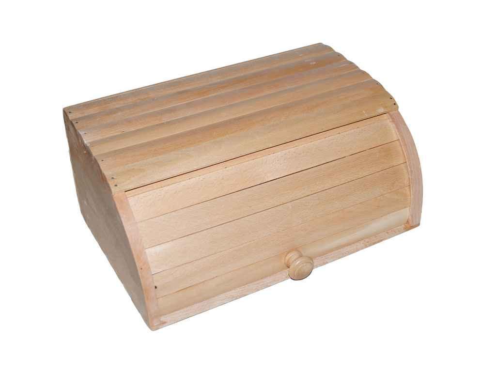 Хлебница деревянная большая 390*265*175 мм
