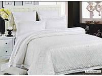 Комплект постельного белья 200х220/70*70 ARYA Pure Жаккард   Layla белый