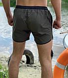 НОВИНКА! Купальные пляжные Шорты Intruder Хаки - черный, фото 3