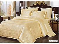 Комплект постельного белья 200х220/70*70 ARYA Pure Жаккард   Layla кремовый