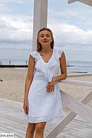 """Платье женское на запах мод 1538 (42-44, 44-46) """"VALERIA"""" недорого от прямого поставщика"""