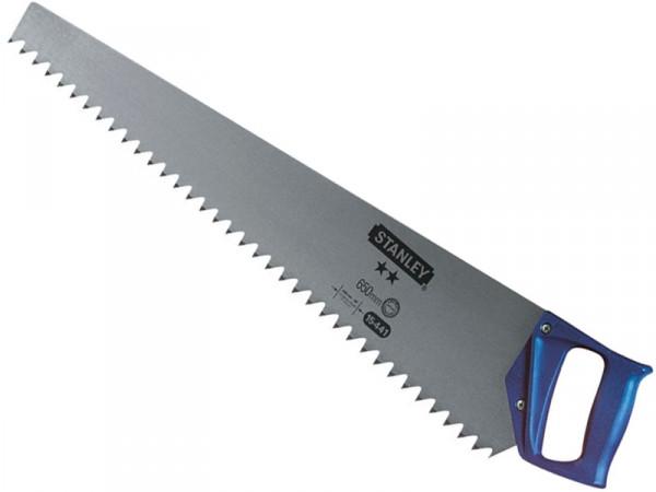Ножівка по пінобетону з загартованими зубами Stanley 1-15-441