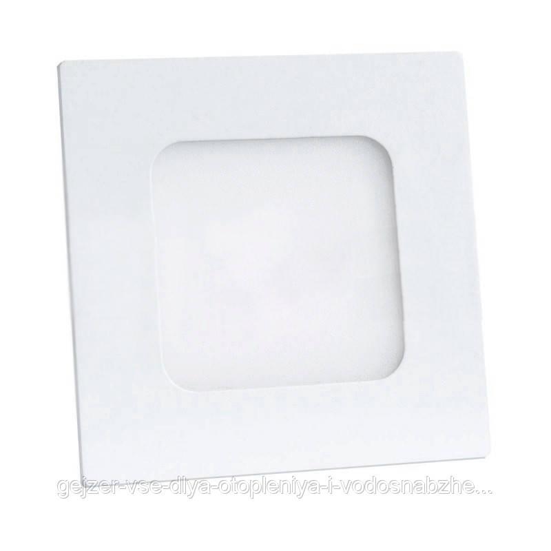 Светильник LED встр. BIOM PL-S 6W квадратный