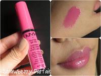 Масляный блеск для губ NYX Butter Lip Gloss 01 Strawberry Parfait