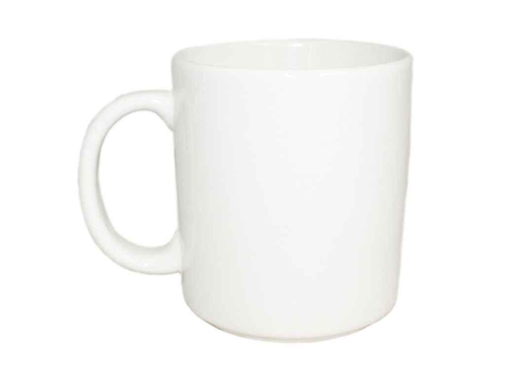 """Чашка 300 мл Офисная Снежка (6шт) """"Полегенько"""""""