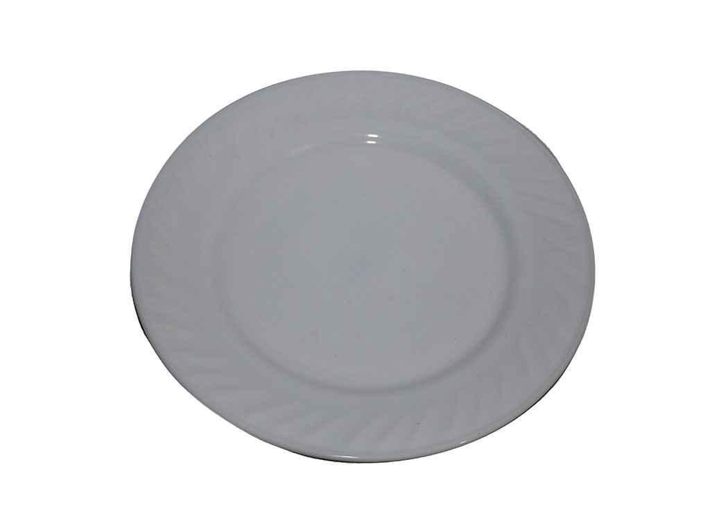 """Тарелка мелкая стеклокерамика d=180 мм White в упаковке 6 шт """"Lumines"""""""