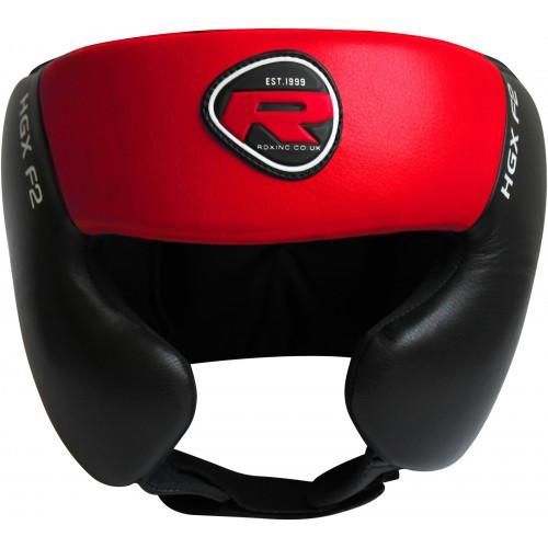 Боксерский шлем тренировочный RDX Red XL