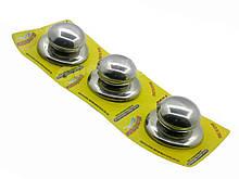 Ручки для крышки металлические маленькие Cool Tool 3 шт (3513105)