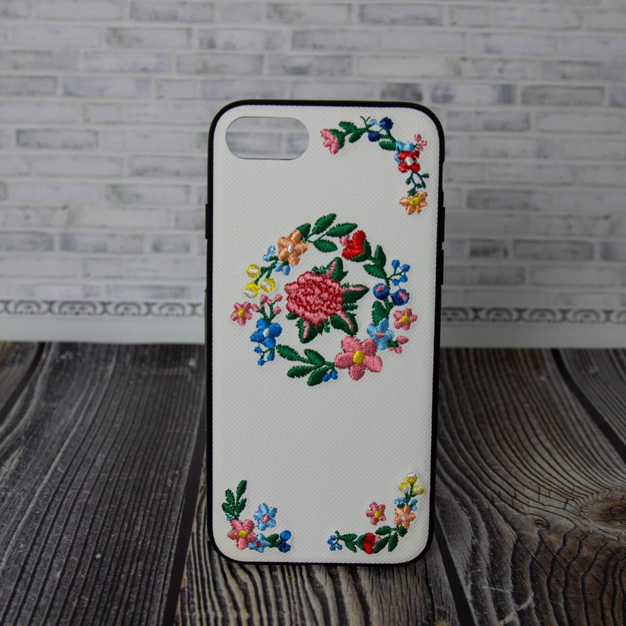Чехол накладка для Iphone 7 8 Hoco summer flowers вышиванка пион
