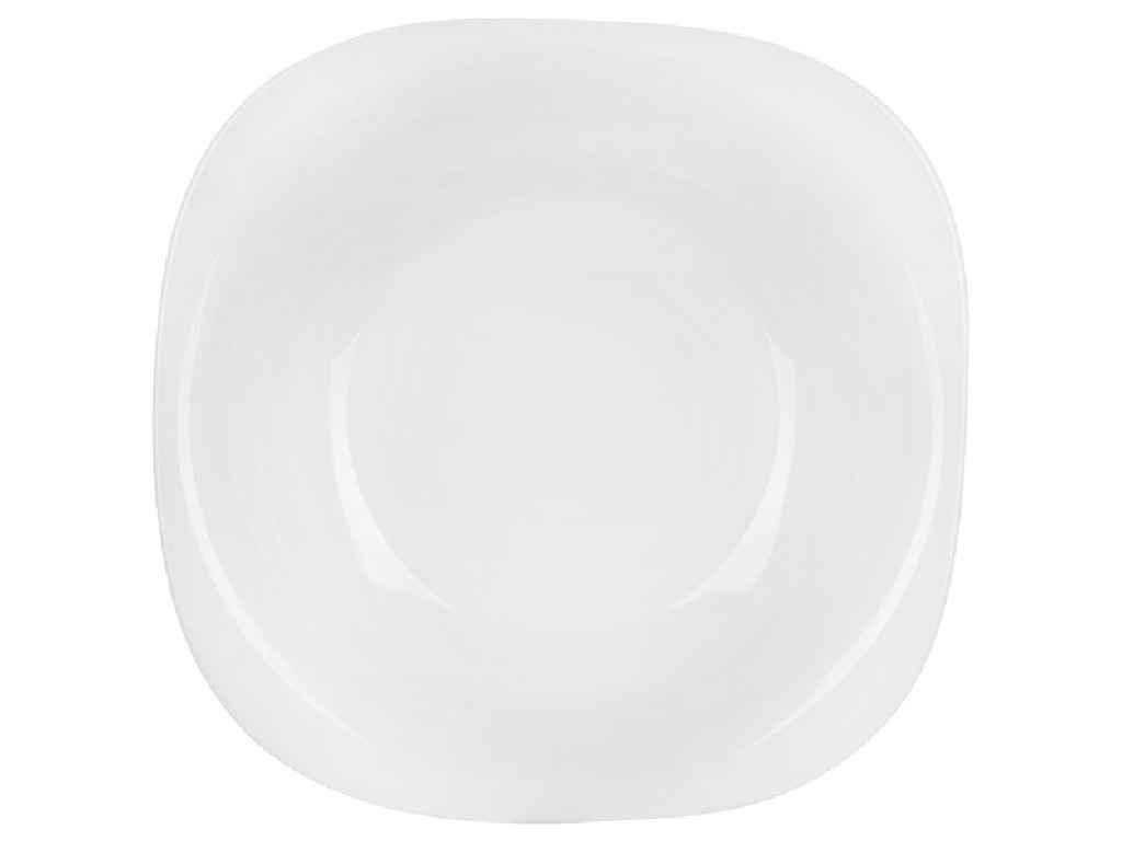 Тарелка суповая стекло Luminarc Carine White 230 мм упаковка 6 шт (L5406)