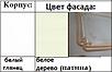 Шкаф 5Д Луиза патина Світ Меблів , фото 3