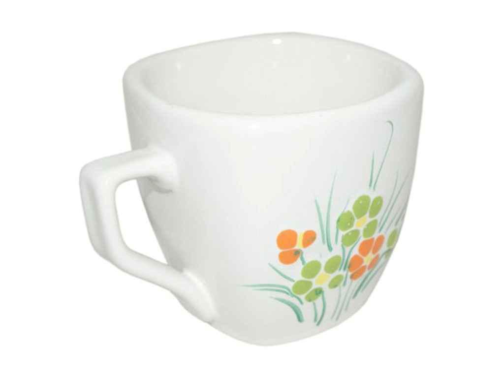"Чашка керамика 210 мл Весна упаковка 6 шт ""Полигенько"""