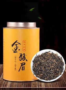 Чай чорний Цзінь Цзюнь Мей 500 гр., червоний чай Золоті Брови на подарунок