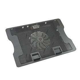 Подставка для ноутбука N88 охлаждающая (Black)   Подставка под ноутбук активное охлаждение