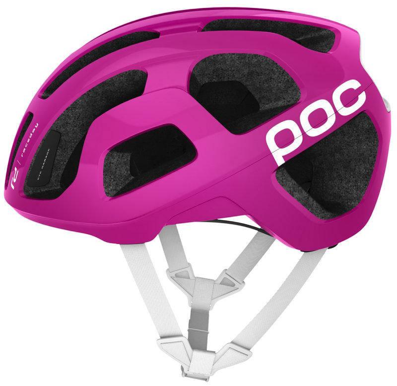 Шолом велосипедний POC Octal L 56-62 Fluorescent Pink, фото 2
