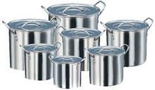 Набор посуды из нержавеющей стали Empire Матрешка 7 шт 1,5л/2,5л/4,5л/6,5л/8,5л/11,5л/15л (5007)