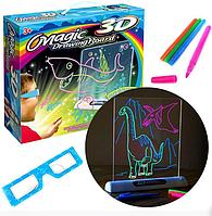Магическая доска для рисования 3D Набор для творчества Magic Drawing Board 3D
