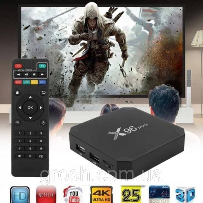 ТВ-приставка TV box X96 Mini 2/16 Gb Android 9.0