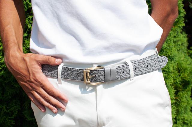 Кожаные ремни для брюк