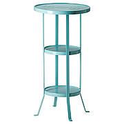 ГУННЕРН Журнальный стол, бирюзовый синий, 38 см, 50282827, ИКЕА, IKEA, GUNNERN